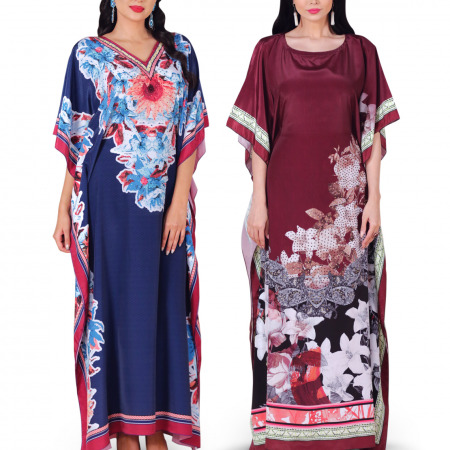Al Joury Blossom Jalabiya Pack of 2
