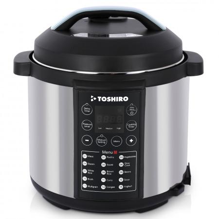 Toshiro 6L Pressure Cooker - TPC600A