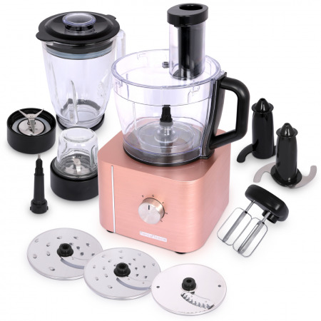 10-in-1 Food Processor HGM-405 - Rose Gold