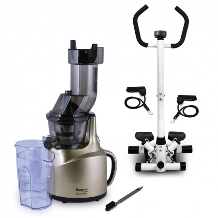Multifunctional Twist Stepper & Whole Big Mouth Juicer - Gold