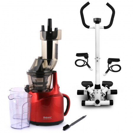 Multifunctional Twist Stepper & Whole Big Mouth Juicer - Red