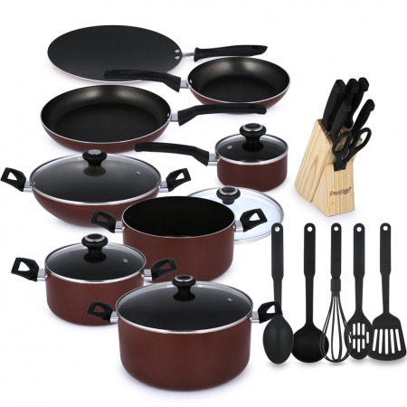 25 Piece Non-Stick Cookware Set