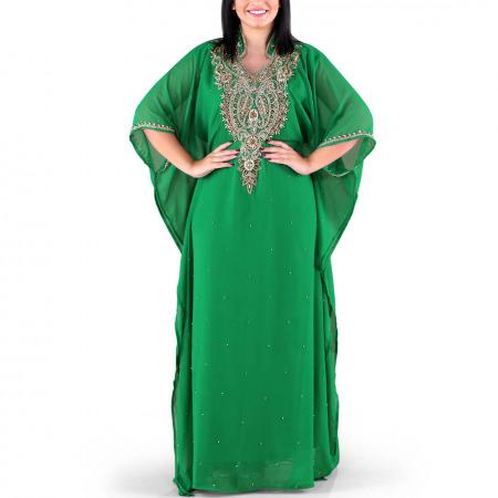 Ghalia Green Jalabiya