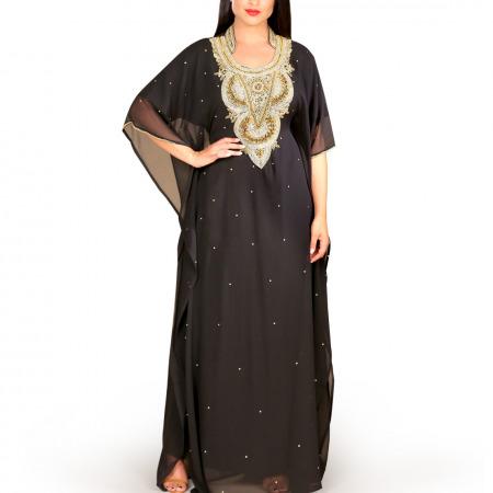 Layla Black Jalabiya
