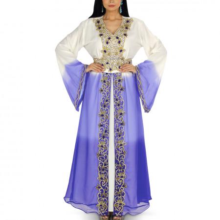 Ombre Blue Jalabiya & Gift