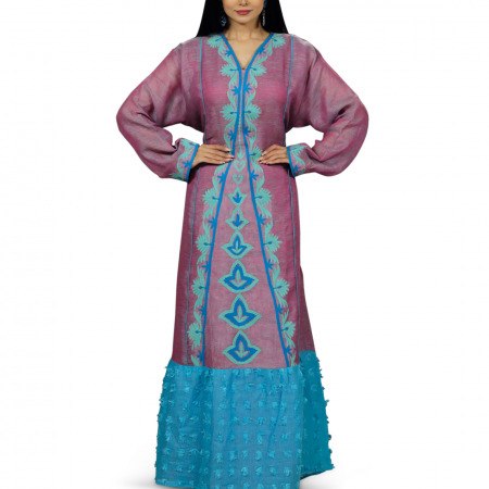 Folklore Lilac Dress