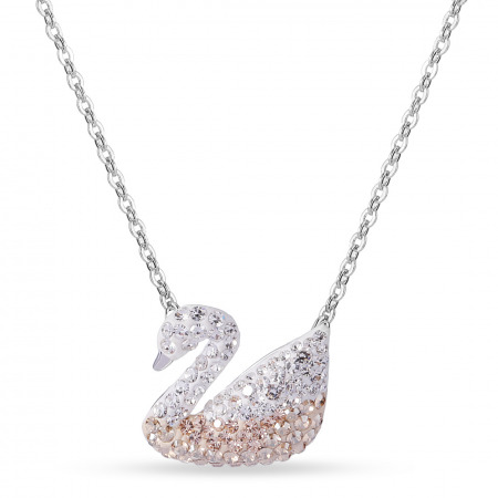 Colorful Swan Necklace Gift