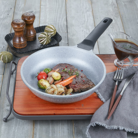 M1019 Marble Cookware Set 10 Piece - Gray