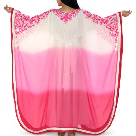 Ombre Pink Jalabiya & Gift
