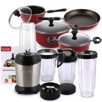 NutriPress Mixer Grinder 54947 & 7PC Cookware Set