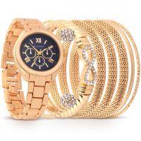 ساعة فوريفر باللون الذهبي