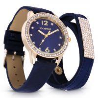 ساعة ماجيستك باللون الأزرق الملكي