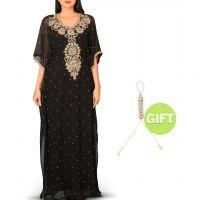 Al Nouf Black Jalabiya & Gift
