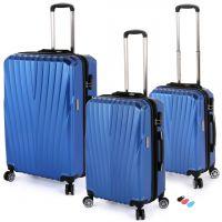 مجموعة حقائب سفر تورونتو RA 8661 من ديسكفري – 3 قطع أزرق