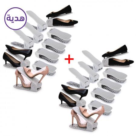 مُنظم أحذية مكونة من 10 قطع - مجموعتين