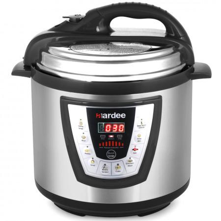 طنجرة الطهي بالضغط 6 لتر - أسود