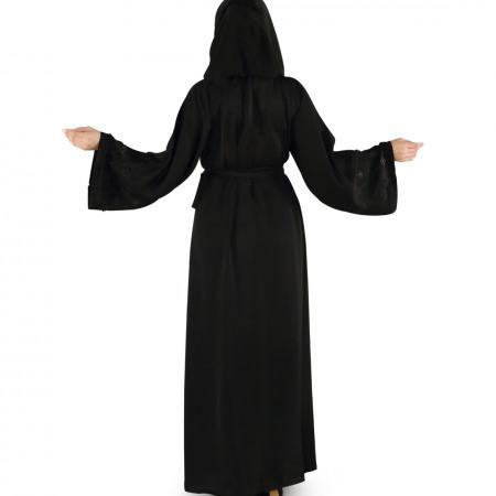 Black Crystal Abaya - Large