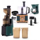 عصارة بطيئة جاردينيا كوليكشن مع محضرة الطعام متعددة الاستخدامات EF408 و ماكينة تحضير القهوة