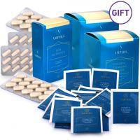 Premium Skin Nutrient and Gift Detox Tea Set of 2