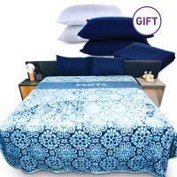 Blanket - Teal & Gifts