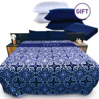 Blanket - Navy & Gifts