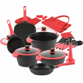 Palass 21 Piece Cookware Set & Gifts