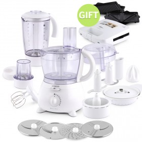 Food Processor with Free Sandwich Maker