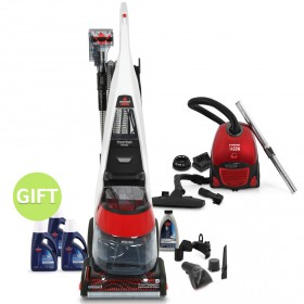 Deep Clean Carpet Cleaner & 1400W Vacuum Cleaner