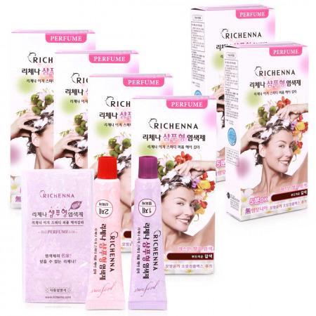 Hair Coloring Shampoo Dark Brown - Buy 4 Get 2