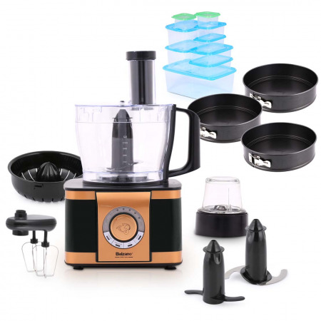 Multifunctional Food Processor EF408 - Royal Black Collection & Gifts