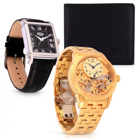 Centenary Double Flywheel Wristwatch