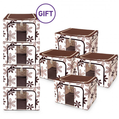66L Living Box Storage Ivory - Buy 4 Get 4 FREE