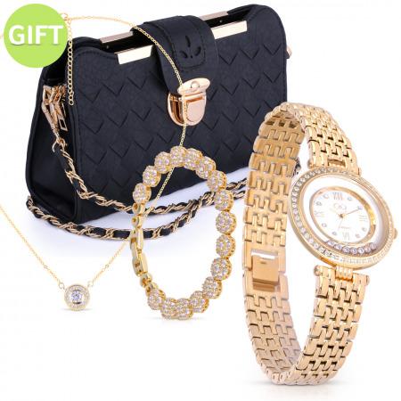 Lola Gold Watch Set
