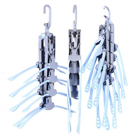 Flip Hangers Set of 3 - Grey