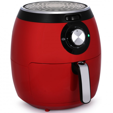 5.5 L Airfryer HF-155-C - Red & Silver