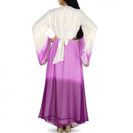 Ombre Purple Jalabiya & Gift