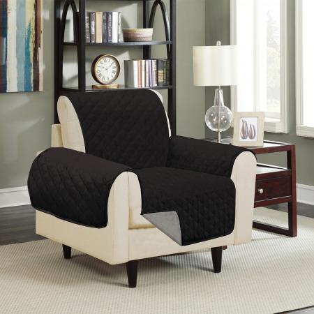 Sofa Saver Grey/Black - 1 seat
