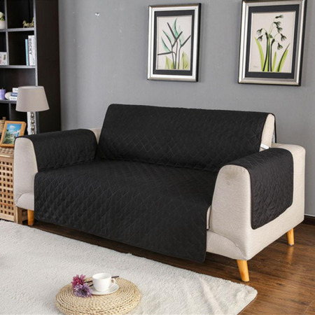 Sofa Saver Grey/Black - 2 seat
