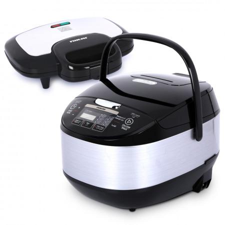 جهاز طهي مُتعدد الاستخدامات مع ماكينة صنع السندوتشات