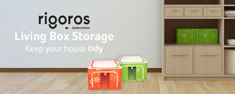 Keep your home organized with Rigoros Living Box