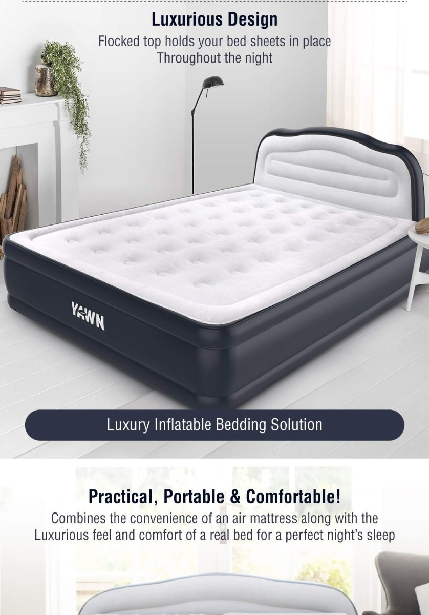 Yawn Air King Size Airbed Citruss Citruss